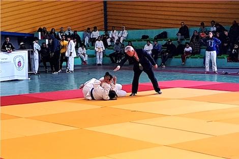 Taroudantpress - تارودانت بريس :أولمبيك خريبكة يتصدر بطولة جهوية في الجيدو