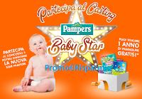 Logo Concorso ''Pampers Baby Star'' : vinci 1 anno di pannolini gratis