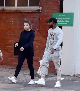 Arsenal star Lacazette seen with new girlfriend and £250,000 Ferrari