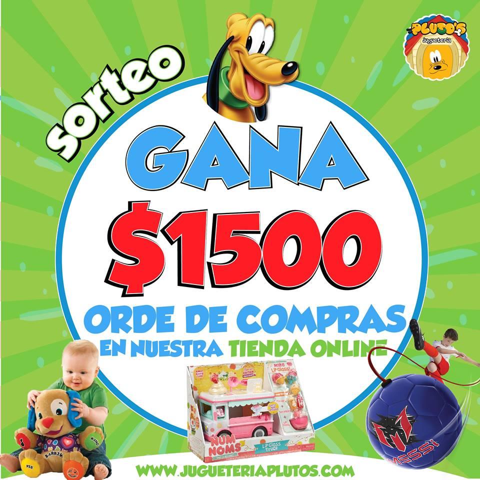 Gana $1500 pesos en Juguetes