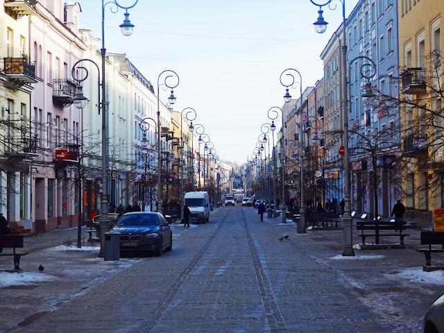 ul. Sienkiewicza w Kielcach