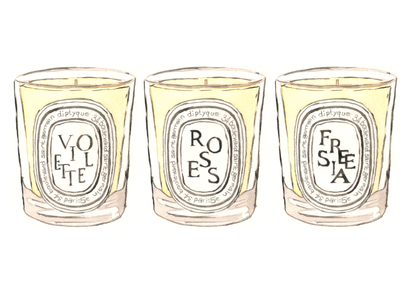 Pencil Stitches: Illustration | Diptyque Candles