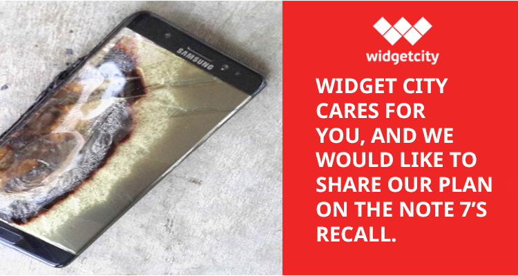 Widget City's Note 7 Recall Plan