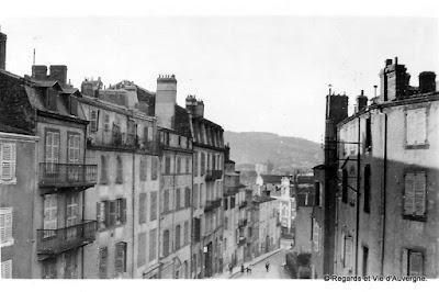 Clermont(Ferrand rue Montlosier rue Sidoine Apollinaire