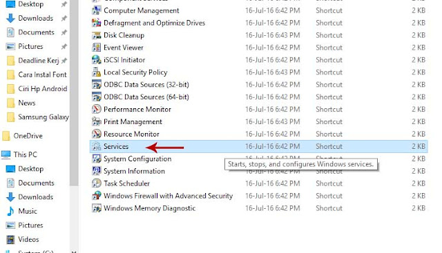 Cara Mematikan Fitur Windows Update Pada Windows 10