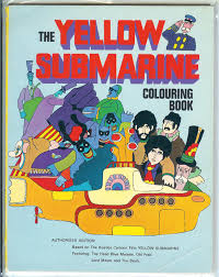 coloring book of the week yellow submarine. Black Bedroom Furniture Sets. Home Design Ideas