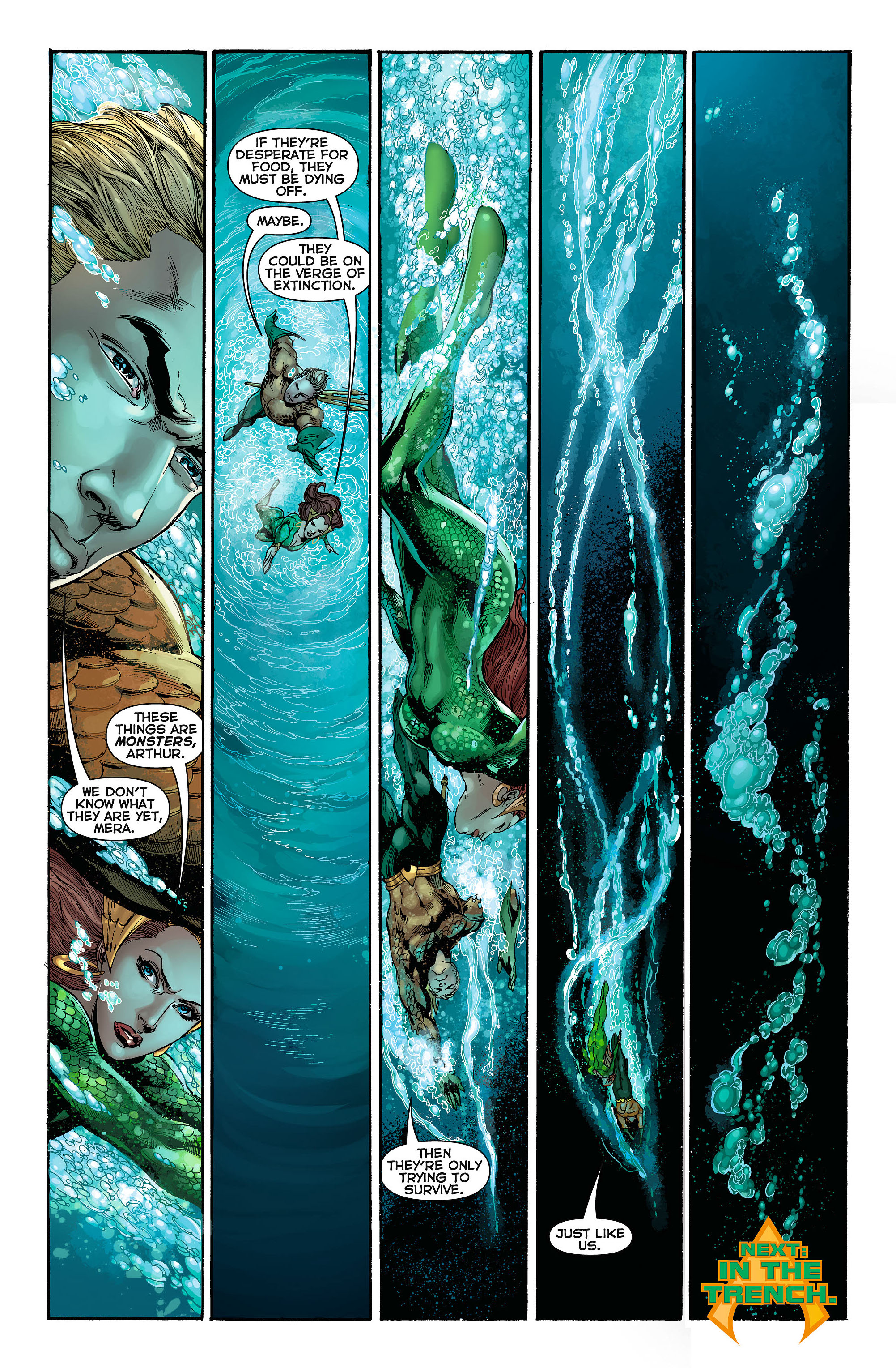 Read online Aquaman (2011) comic -  Issue #3 - 21