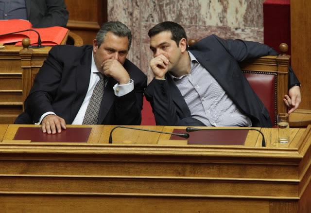 Οι ΣΥΡΙΖΑΝΕΛ φεύγουν όπως ήρθαν