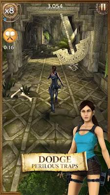 lara croft relic run mod apk indir
