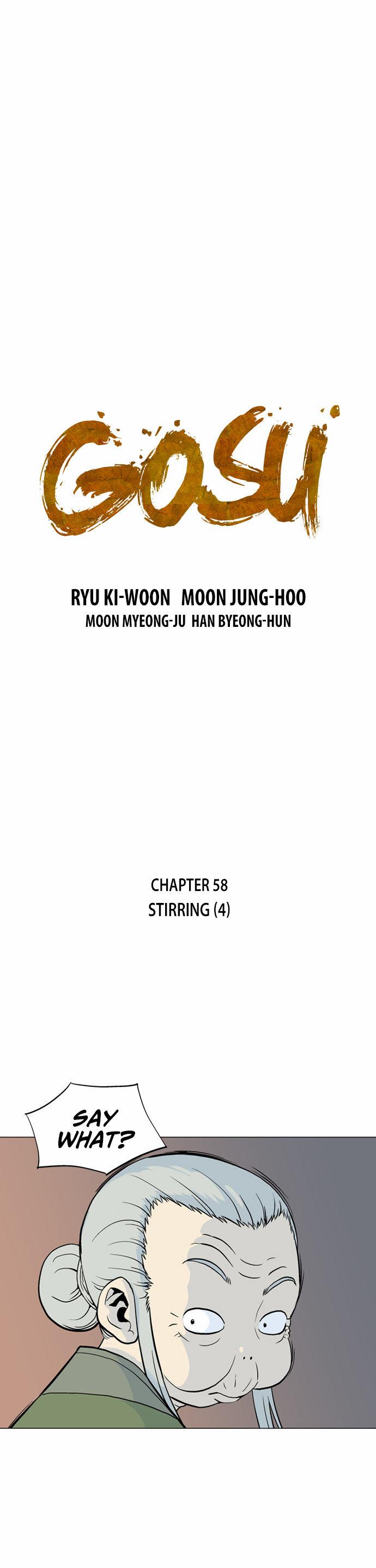 Gosu (The Master) - Chapter 60