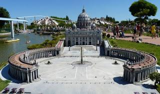 Italia en Miniatura, Ciudad del Vaticano.