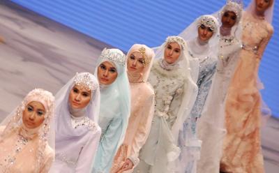 Tips Memilih Busana Pengantin Syar'i
