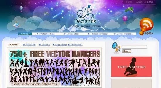Situs Penyedia Vector Gratis Dezignus