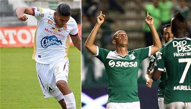 Deportes Tolima vs Deportivo Cali en vivo