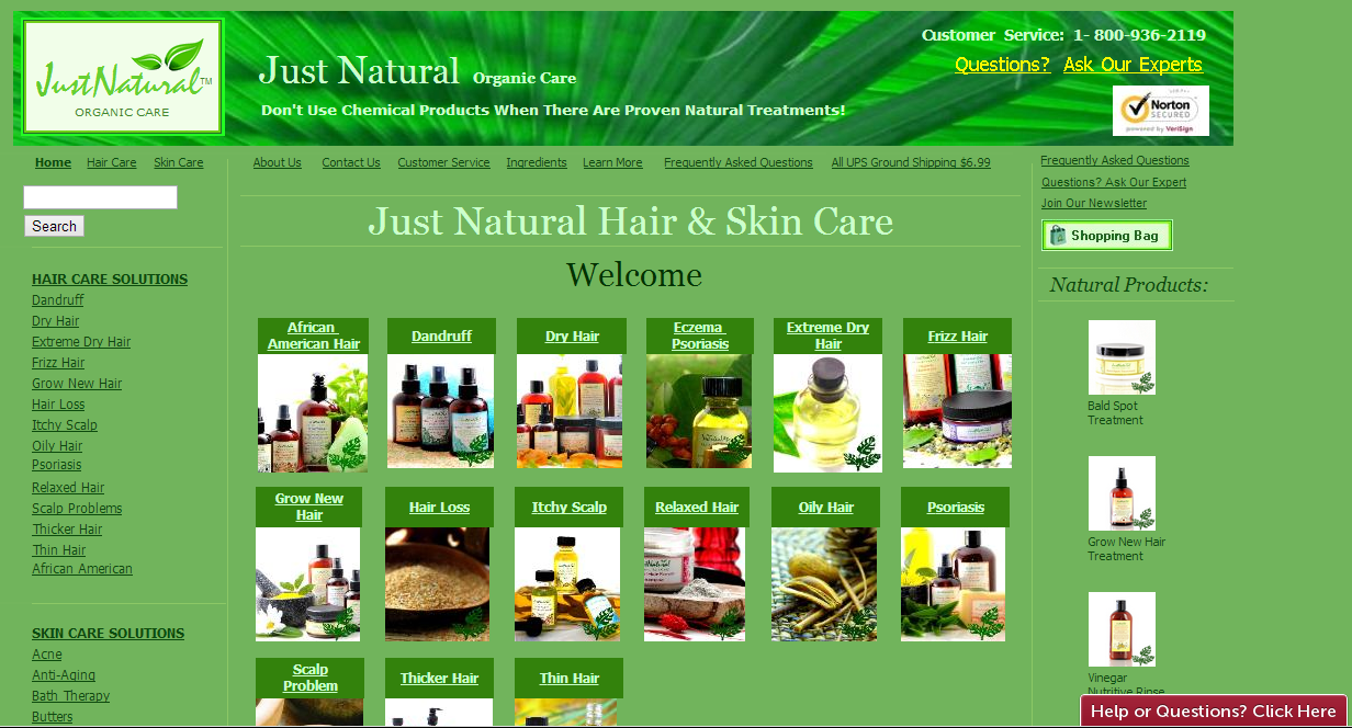 Evan S Reviews Review 1 Just Natural Organic Care Bald Spot Treatment