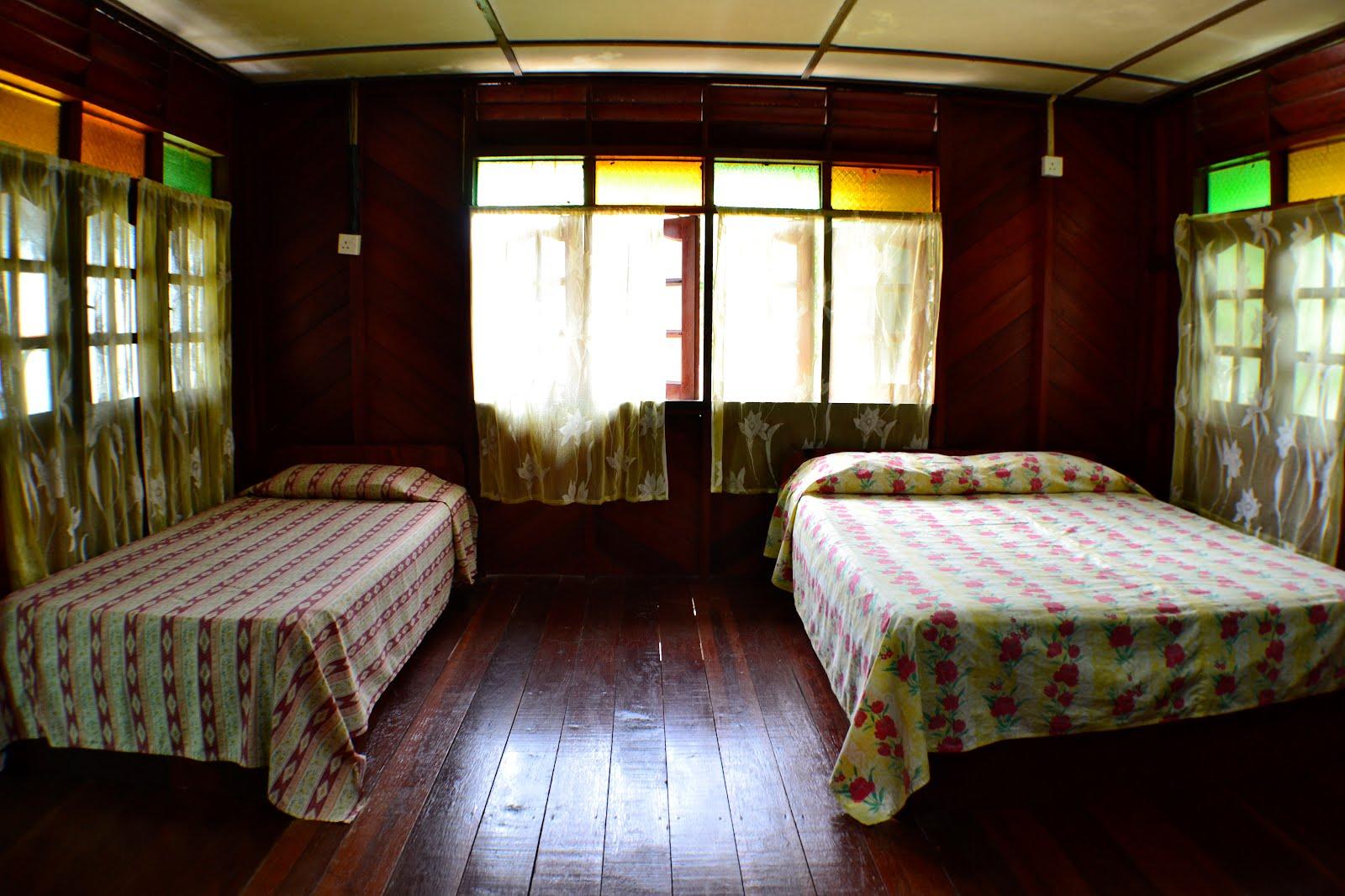 Hiasan Bilik Tidur Rumah Papan Desainrumahid Kayu 1 Unit Chalet Deruan Ombak