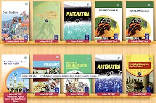 Buku Paket Kelas 9 Kurikulum 2013 Revisi Terbaru Versi BSD