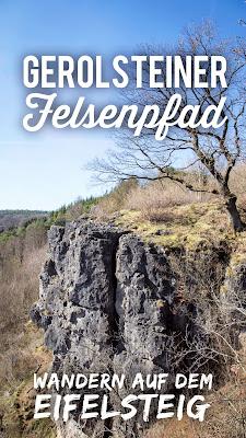 Vulkaneifel-Pfad | Gerolsteiner Felsenpfad | Eifelsteig Gerolstein | Rundwanderung