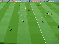 PES 2018 Bright Green Pitch + Vivid Colours