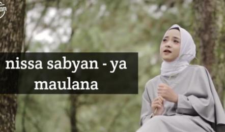 Download Lagu Nissa Sabyan Ya Maulana Mp3, Nissa Sabyan, Lagu Religi,Lagu Sholawat,