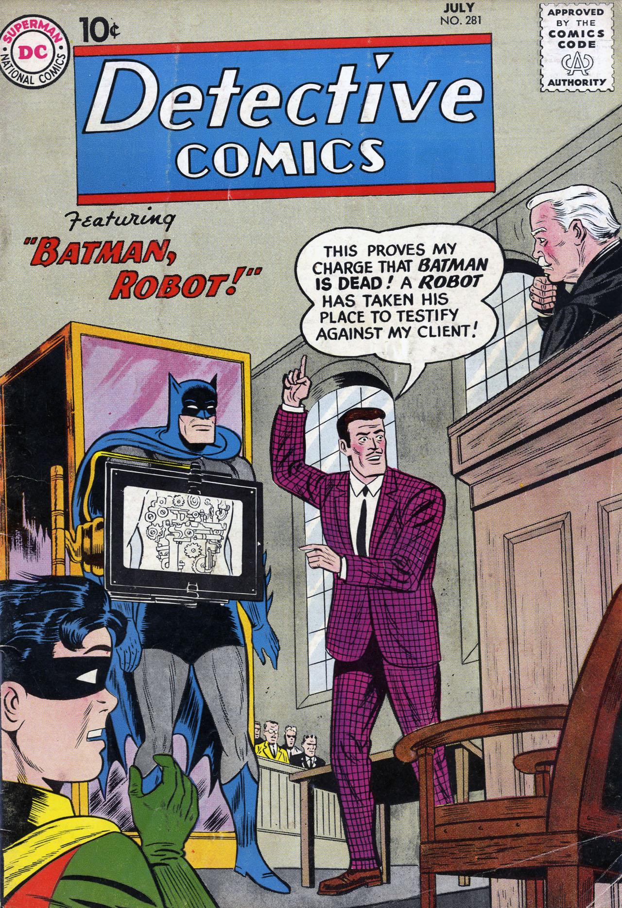 Detective Comics (1937) 281 Page 0