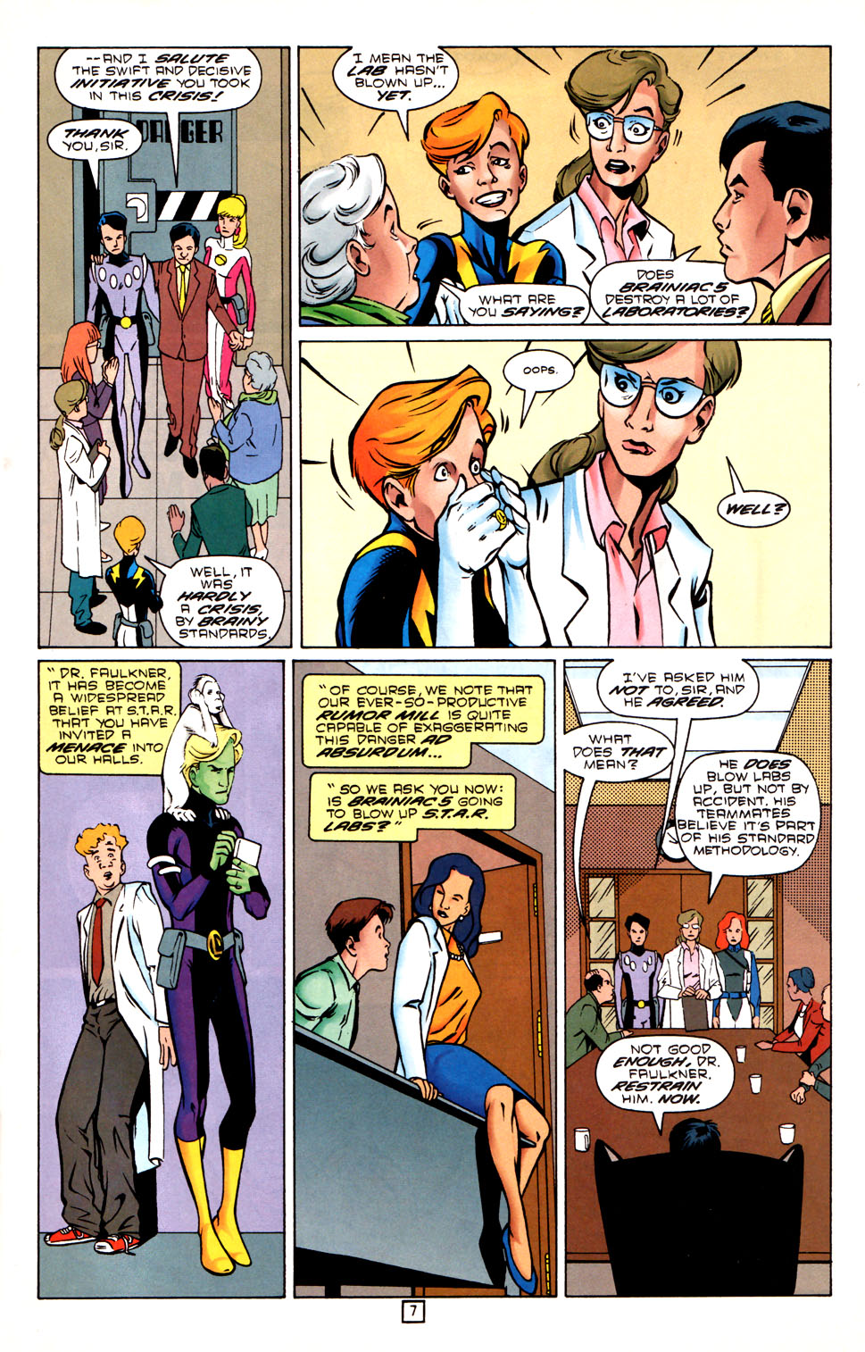 Legion of Super-Heroes (1989) 88 Page 7