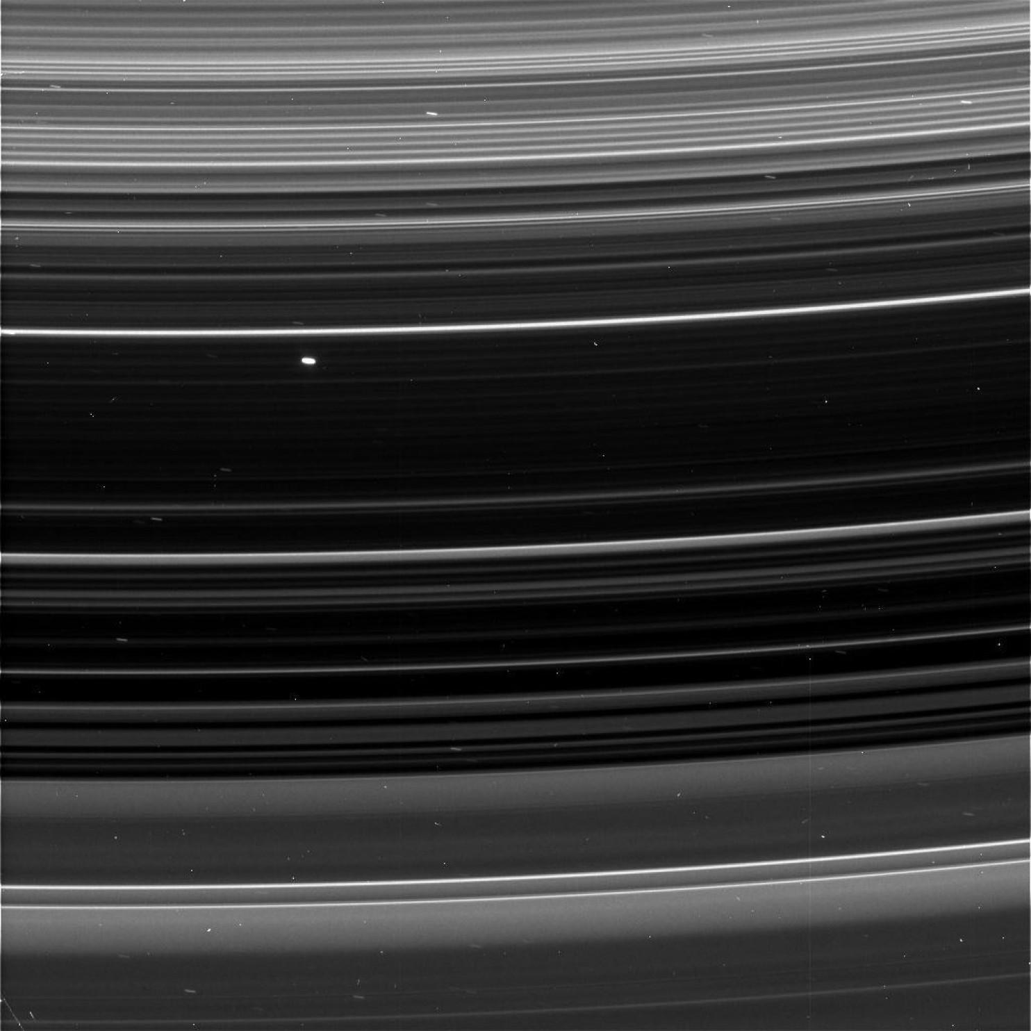 Los anillos de Saturno.
