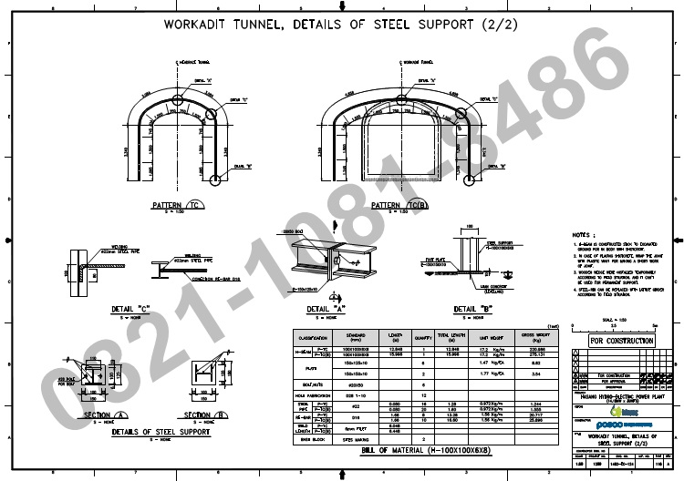 Jasa Steel Rib Tunnel Murah Indonesia ~ Jasa Roll