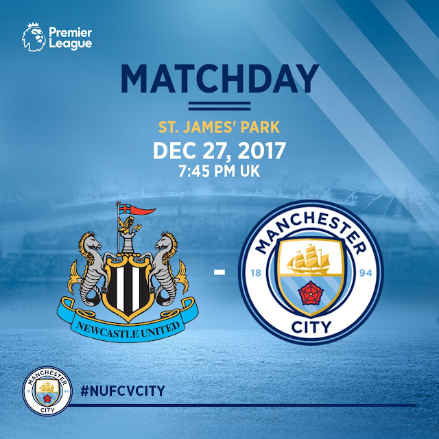 [19:45 GMT] Newcastle - Manchester City