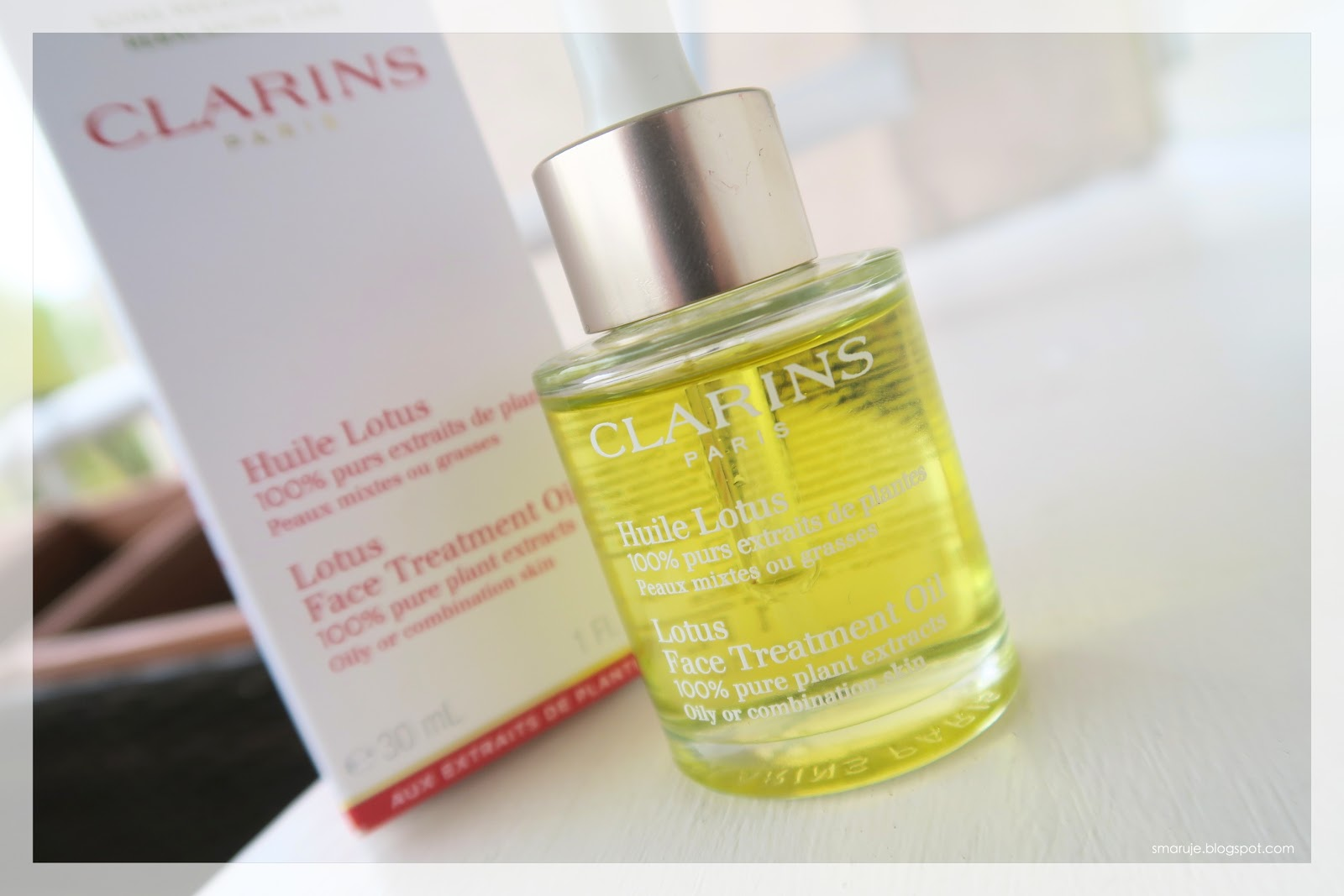 Clarins Huile Lotus review