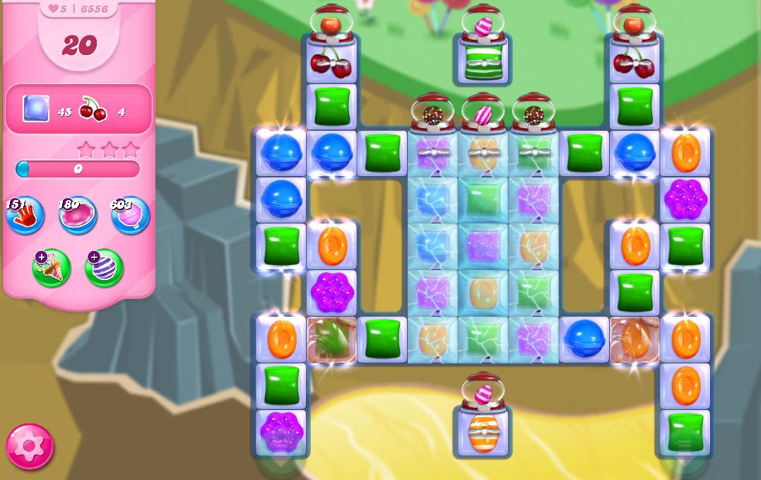 Candy Crush Saga level 6556