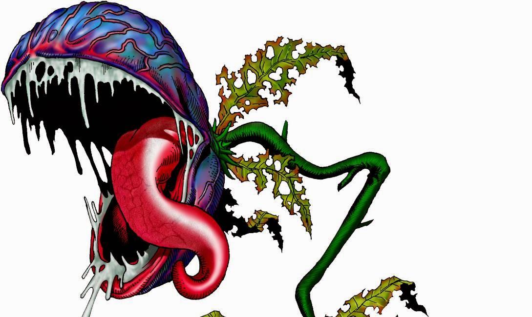 Planta carnivora gigante