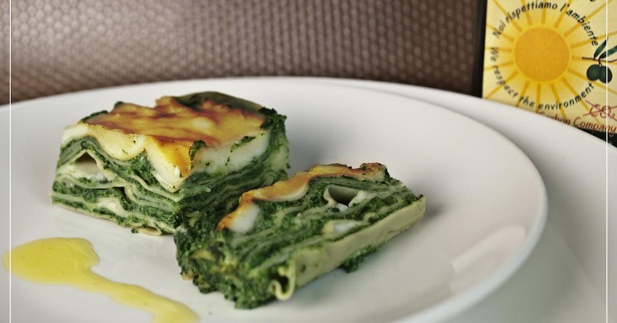 kochen mit san luigi spinat ricotta lasagne. Black Bedroom Furniture Sets. Home Design Ideas
