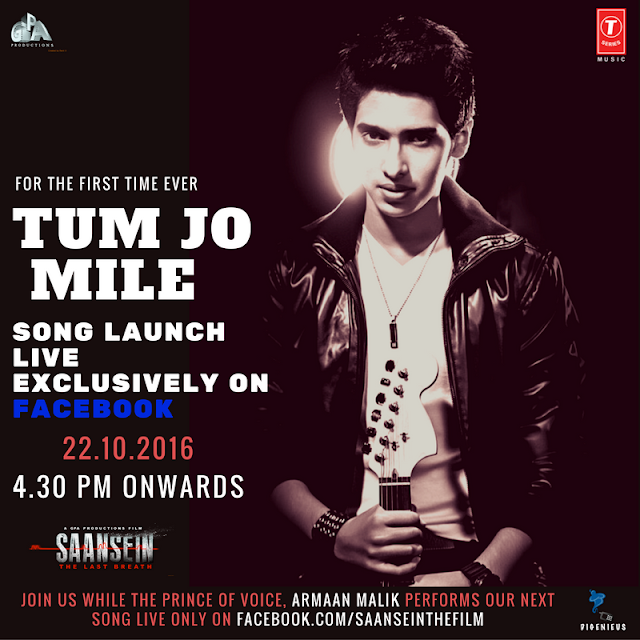 EXCLUSIVE: Armaan Malik to launch & perform live on SAANSEIN's next song