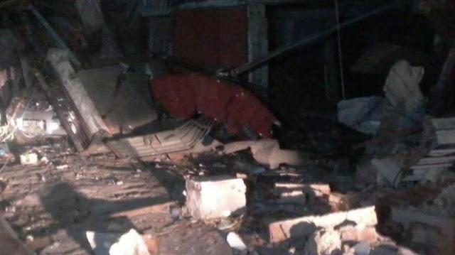 Malam Takbiran Mencekam, Puluhan Rumah di Makassar Rusak Diguncang Ledakan