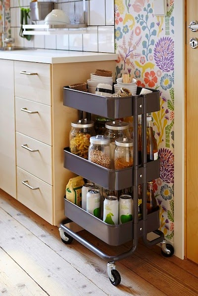COMPLEMENTOS: Carrito Raskog IKEA