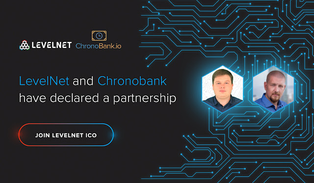 LevelNet and Chronobank have declared a partnership