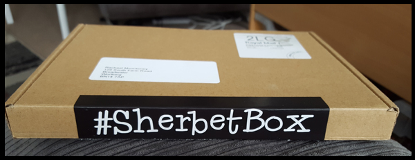 SherbetBox fits perfectly through my letterbox