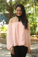 Rakul Preet Singh in lovely Pink Crop Top and Black Trousers at Jaya Janaki Nayaka success meet 080.JPG