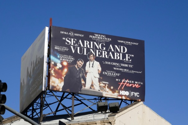 My Dinner with Hervé movie FYC billboard