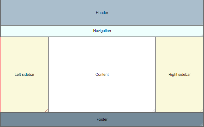 website-layout-grid-structure