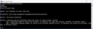 JDK 13: VM.events Added to jcmd
