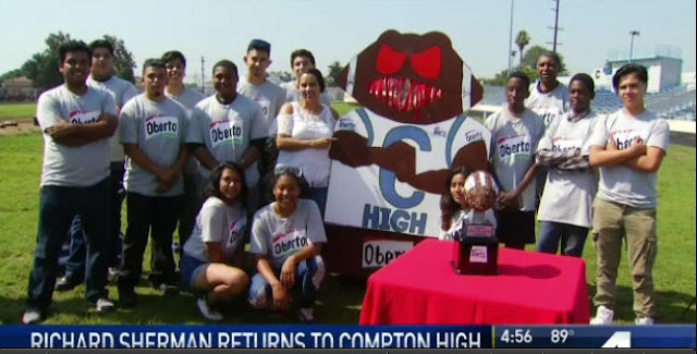 http://www.nbclosangeles.com/on-air/as-seen-on/Richard-Sherman-Takes-on-Compton-School_s-Robotics-Team_Los-Angeles-433963243.html