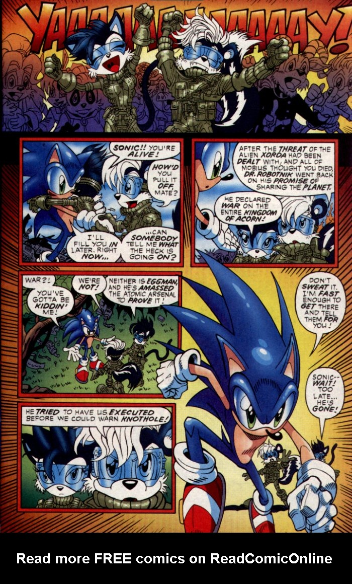 Read online Sonic The Hedgehog comic -  Issue #130 - 9