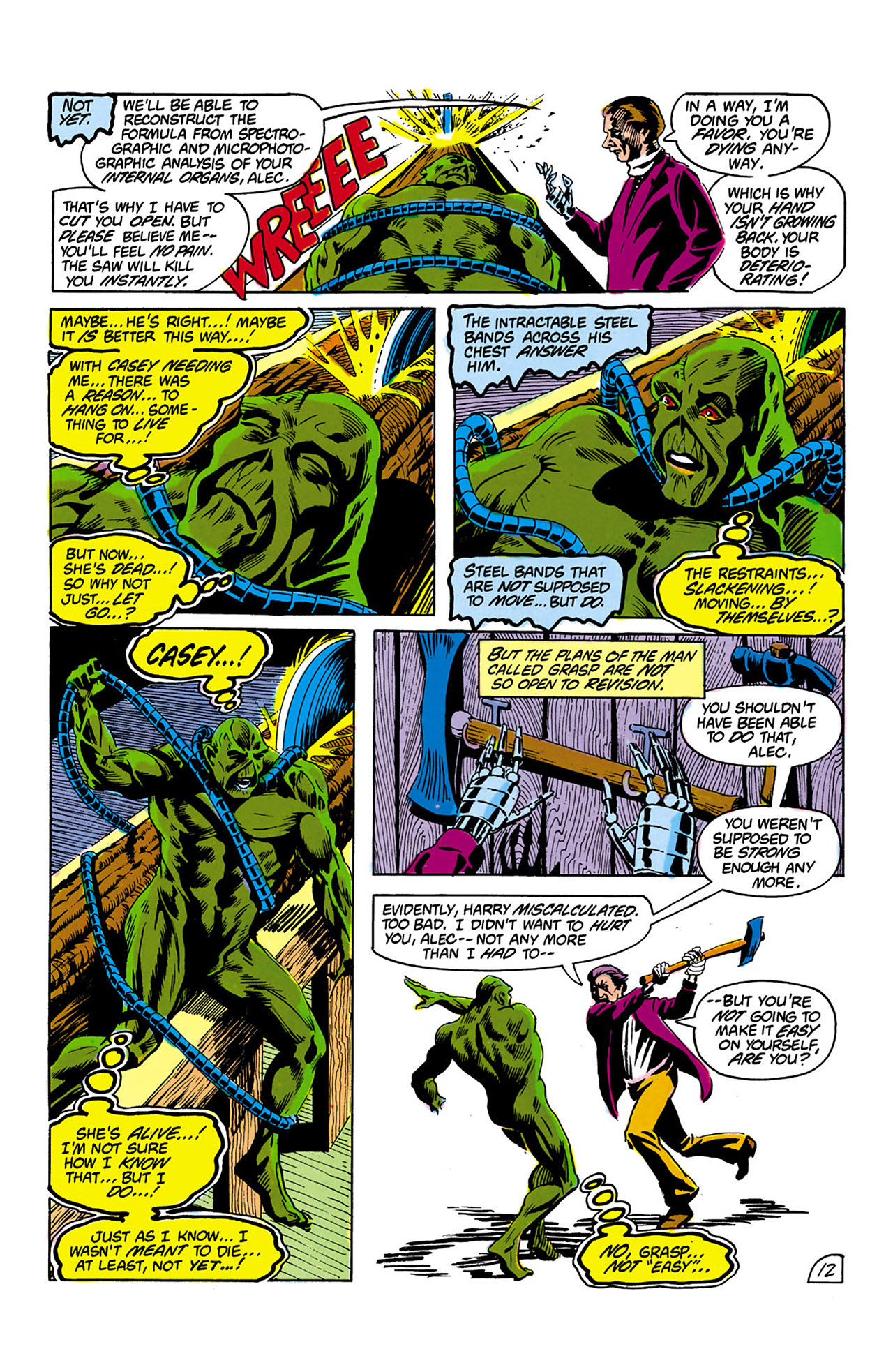 Swamp Thing (1982) Issue #2 #10 - English 13