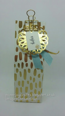Paperjay Crafts, Bundle of Love DSP blue tealight Bag
