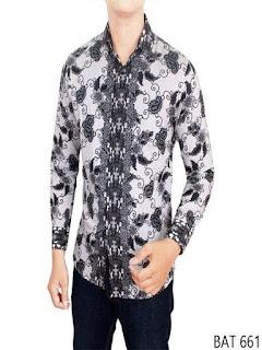 baju batik pria alisan