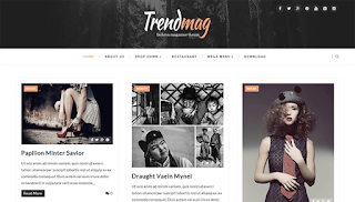 Trend Mag Blogger Template