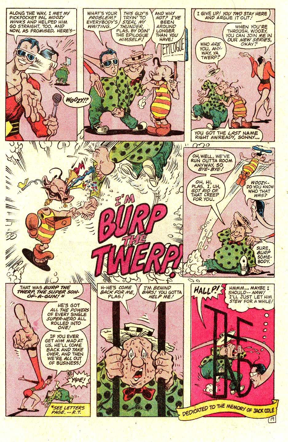 Read online Secret Origins (1986) comic -  Issue #30 - 41