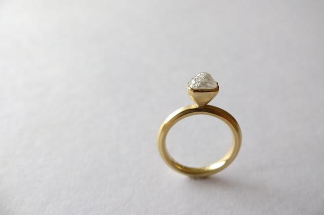 ダイヤモンド 原石 婚約指輪 オーダーメイド